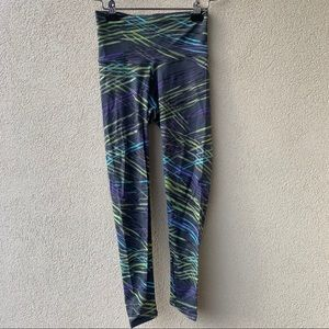 FITFIT High Waisted Stretchy Abstract Leggings